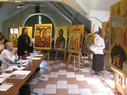 Пятнадцать выпускников по специальности церковно историческая  Пятнадцать выпускников по специальности церковно историческая живопись представили свои дипломные работы иконы