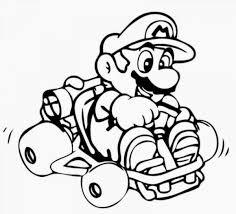 Mario Kart Coloring Pages 29233 Bestofcoloringcom