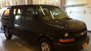 Chevy Express 8 Passenger Van - YouTube