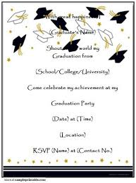Free Graduation Templates For Word Rome Fontanacountryinn Com