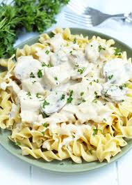Dump in the black beans (make sure they are drained & rinsed!!!) Crockpot Chicken Stroganoff 3 Yummy Tummies
