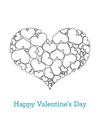 Small Picture Happy Valentines Day coloring page Free Printable Coloring Pages