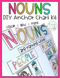 Nouns Diy Anchor Chart Kit