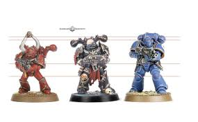 Chaos Space Marine Size Comparison Warhammer40k