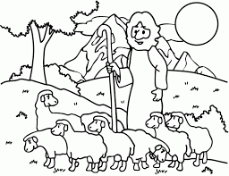 Small Picture Good Shepherd Coloring Pages Free Coloring Home
