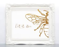 bee free print honey bee print bumble bee poster be free