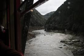 嵐山 渡月橋からトロッコ列車竹林の小径へ春先の京都旅行で撮ってき