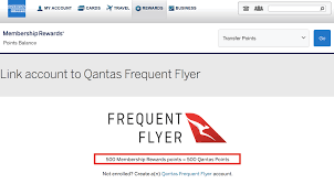 American Express U S Adds Qantas Frequent Flyer As New