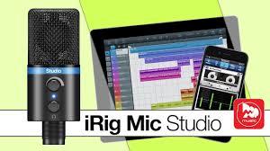 <b>IK Multimedia iRig Mic</b> Studio цифровой <b>микрофон</b> для PC, MAC ...