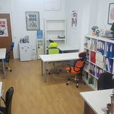 office desk space. Desk Spaces In Shared Office, Clapham North Office Space A