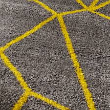 grey yellow gy pile rug royal nomadic geometric design modern