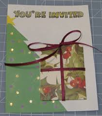 Make Diy Christmas Party Invitations