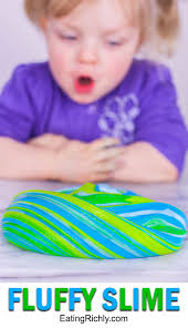 fluffy slime recipe without borax it