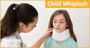 toddler kids car accident neck injuries
