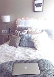 cute white bedding cute white comforter grey bedding this would be perfect for a dorm room cute white bedding
