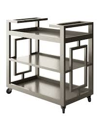 modern metal furniture. Accent Bar Cart, Modern Serving Trolley, Metal Furniture R