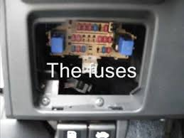 where are the fuses in my nissan versa where are the fuses in my nissan versa