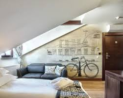 Inspiration for a contemporary bedroom remodel in West Midlands