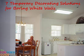 white wall decor solutions