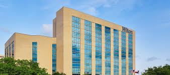 hilton san antonio airport hotel tx exterior