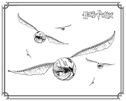 Small Picture Harry Potter Snitch Coloring Pages Coloring Class gifts