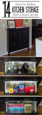 Space Saving Dvd Storage Add Kitchen Storage In A Small Space Hemnes Small Spaces And