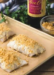 stuffed flounder with crabmeat and
