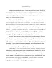 geo geography of the non western world osu page  3 pages geo 105 final essay and terms