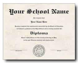 High School Diploma Template Download_284732 High School 2 Free