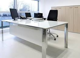 glass office tables. Homely Ideas Glass Office Desk Perfect Decoration Tables