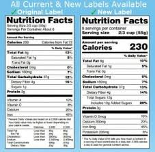 New Fda Food Chart 2020 Fda Regulations For Food Labeling Are You Compliant