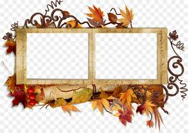 borders and frames picture frames autumn clip art collage