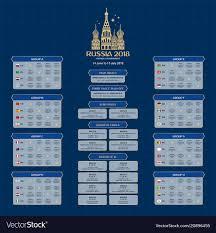 Design Schedule Template Soccer Tournament 2018 Schedule Design Template