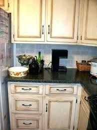 distressed kitchen cabinets rustic white full image for off home depot