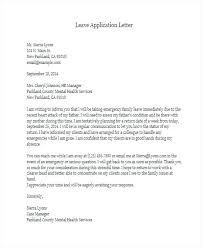 English Leave Letter Format Fresh Formal Letter For School Leave ...