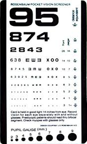 Dot Eye Chart 55 Accurate Eyesight Checking Chart