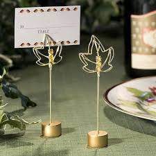 fall wedding place card holders. fall leaves place card holders wedding d