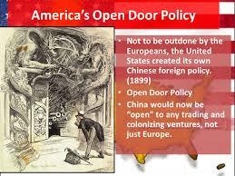 open door policy john hay. America S Open Door Policy With China John Hay