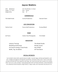 Modeling Resume How To Make A Modeling Resume Hvac Cover Letter Sample Hvac 4