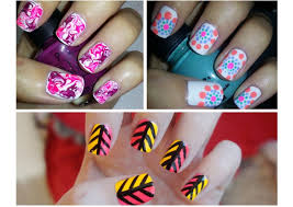 Easy Nail Art Designs For Beginners Step By Step How To Do Simple ...