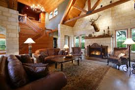 country home interior ideas. Choose Country Decorating Ideas For Living Room With Brown Leather Sofas  And Oak Table On Wide Country Home Interior Ideas N