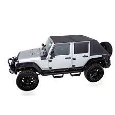 rage soft top kit trailview frameless 4 door jeep wrangler jk 2007 2018