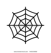 web drawing spider web vector eps icon stock vector hd royalty free 640163668