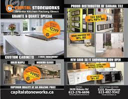 Custom Kitchen Cabinets Ottawa Granite Quartz Countertops In Ottawa Capital Stoneworks