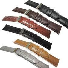 alligator calf watch straps