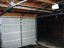 zero clearance garage door opener garage door opener zero clearance garage door opener low clearance garage