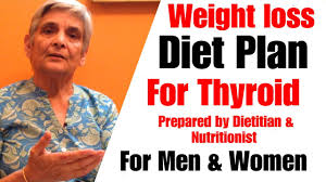 Weight Loss Diet Plan For Thyroid Men Women Indian Diet To Lose Weight Hypothyroidism