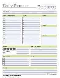 free daily planner printables 10 free printable daily planners daily planner printable