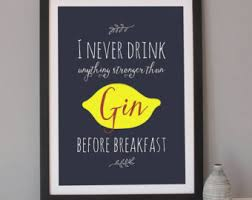 gin quotes – Etsy