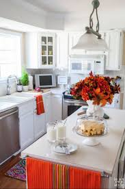 Orange And White Kitchen Kitchen Fall Decor Ideas That Are Simply Beautiful